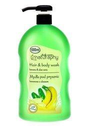 Banana shower soap with aloe vera 1L