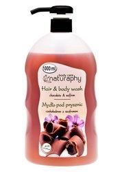 Chocolate shower soap with saffron 1L