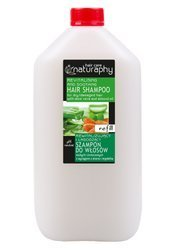 Revitalizing and soothing shampoo for dry and damaged hair with aloe and almond extracts 5L canister
