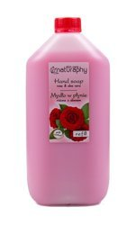 Rose liquid soap with aloe 5L