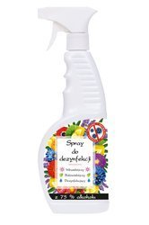 Sanitizing spray for surface 75% alcohol, 650 ml