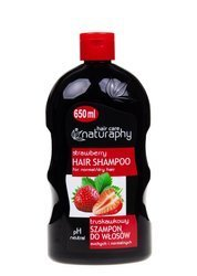 Strawberry shampoo for dry and normal hair 650 ml