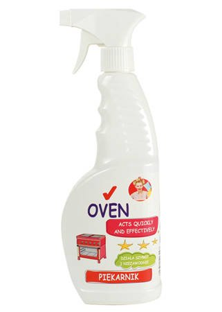 A specialist oven cleaner 650 ml