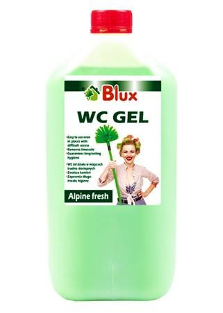 Alpine freshness gel WC 5L canister