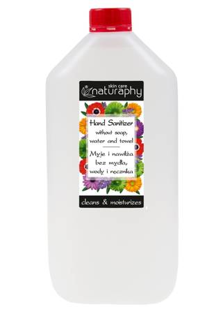 Antibacterial hand gel canister 5L
