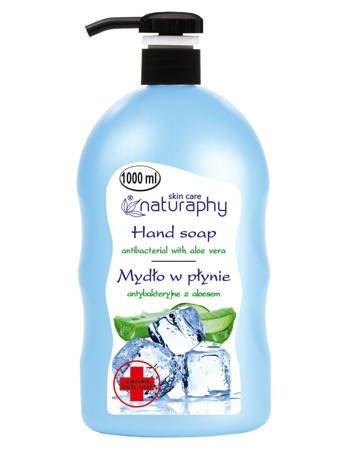 Antibacterial liquid soap with aloe vera 1L