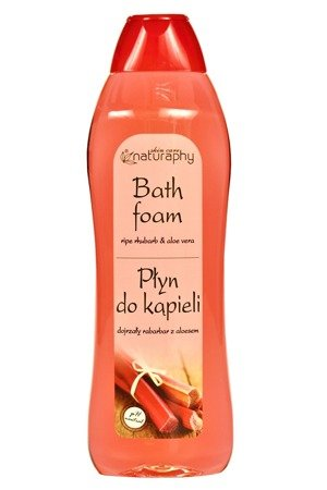 Bath lotion ripe rhubarb with aloe 1L