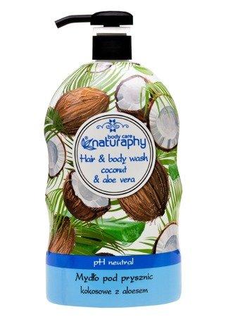 Coconut shower soap with aloe vera 1L