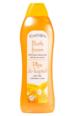Honey and milk bubble bath with aloe vera extract 1L