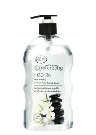 Hypoallergenic liquid soap, fragrance free, 650 ml