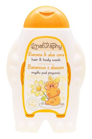 KIDS banana shower soap with aloe 300 ml