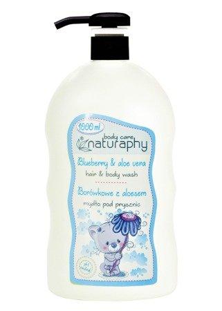 KIDS blueberry shower soap with aloe vera 1L