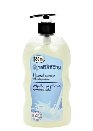 Liquid soap with milk proteins 650 ml