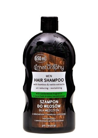 Men's hair shampoo with bamboo and nettle extracts 650 ml