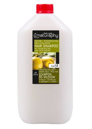 Revitalizing and shining shampoo for dry and normal hair with olive extract 5L canister