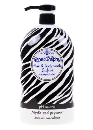 Sandalwood shower soap with aloe extract, Zebra 1L