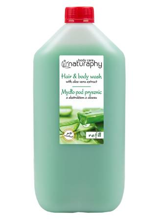 Shower soap with aloe extract 5L canister