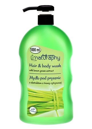 Shower soap with lemongrass extract 1L