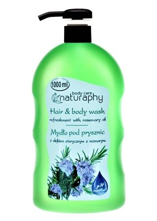 Shower soap with rosemary essential oil 1L
