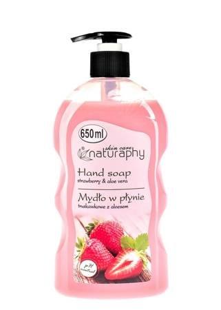 Strawberry liquid soap with aloe vera 650 ml