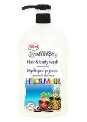 Mydło pod prysznic HelloSummer kokosowe z aloesem 1L