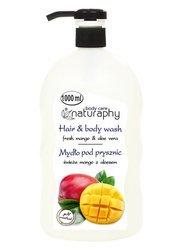 Mydło pod prysznic świeże mango z aloesem 1L