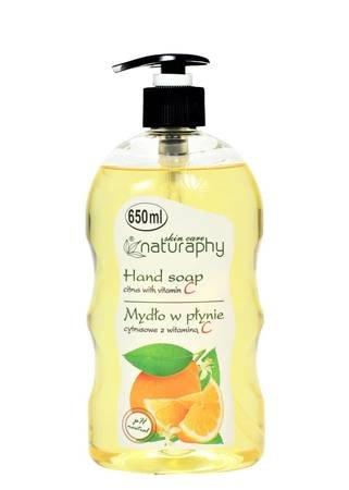Mydło do rąk w płynie cytrusowe z witaminą C 650 ml