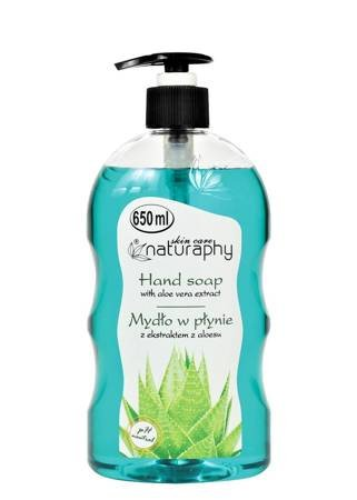 Mydło do rąk w płynie z ekstraktem z aloesu 650 ml