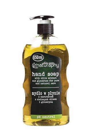 Mydło do rąk w płynie z ekstraktem z zielonych oliwek i gliceryną 650 ml