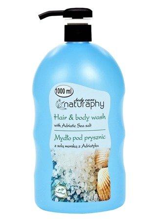 Mydło pod prysznic z solą morską z Adriatyku 1L