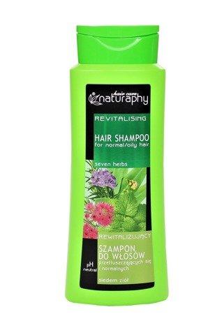 Szampon do włosów przetłuszczających się i normalnych o zapachu siedmiu ziół 500 ml